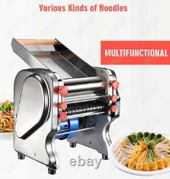 Commercial Electric Dough Roller Sheeter Noodle Pasta Dumpling Maker Machine