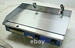 Commercial Electric Griddle 65cm Table Top Double 2 x 2kW Quantum CE KSL-G65