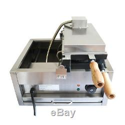 Commercial Electric Nonstick Fish Waffle Ice Cream Taiyaki Maker Waffle Baker