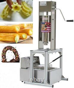 Commercial Home 5L Vertical Manual Spanish Donuts Churrera Churros Machine Maker