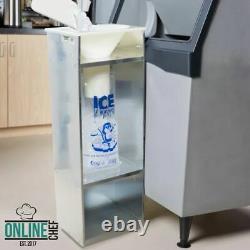 Commercial Ice Bagger 8,10, & 20 lb Bag Stainless Steel Bin Bagging Machine NSF