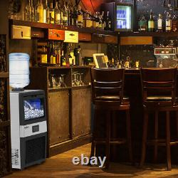 Commercial Ice Maker Machine Stainless Steel Ice Cube Machine Undercounter
