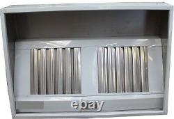 Commercial Kitchen Stainless Steel /Canopy/hood 5ft/1.5 metre MANY IN STOCK