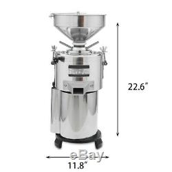 Commercial Peanut butter Maker Sesame Butter Mill Grinding Machine 15kg/h 1100W