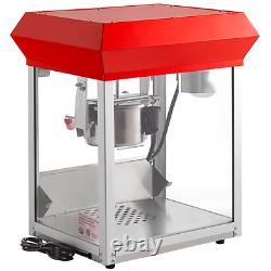 Commercial Popcorn Maker Machine Popper Electric Durable Stainless Steel Frame