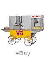 Commercial Popcorn Popper Machine Maker Caramel Merchandiser #2627
