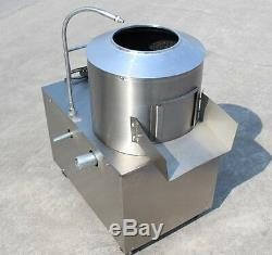 Commercial Potato Peeler Automatic Sweet Potato Peeling & Cleaning Machine 220V