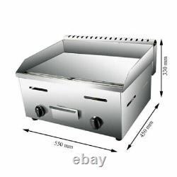 Commercial Small LPG Gas Griddle Barbeque Plate