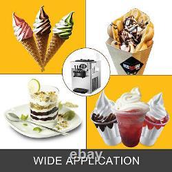 Commercial Soft Ice Cream Machine Frozen Yogurt 3 Flavors Mix Flavors 20-28L/H