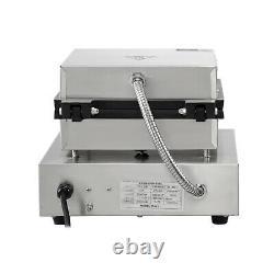 Commercial Square Belgian Waffle Maker Machine Waffle Baker Alarm Iron Machine