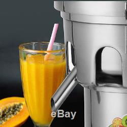 Commercial Stainless Steel Fruit/Vegetable Juice Extractor Juicer & Squeezer