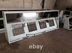 Commercial kitchen stainless steel Canopy/hood 9ft (2.8 MTR) + extraction kit