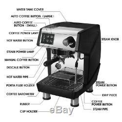 Commercial professional Espresso Machine Cappuccino Coffee Maker Semi-automatic