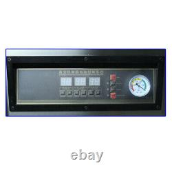 DZ-320 Commercial Vacuum Packing Sealing Machine Sealer 800W Chamber Fresh 110V
