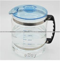 Dental/Medical Pure Water Distiller STAINLESS STEEL INTERNAL with GLASS bottle