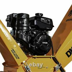 Detail K2 OPC506 6inch 14 HP Gas Kohler Engine Commercial Chipper with Tow Hitch
