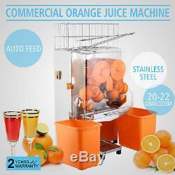 Electric Commercial Orange Juicer Squeezer Juice Machine Citrus Lemon Press Shop