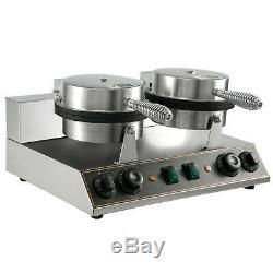 Electric Ice Cream Cone Machine Waffle Maker Nonstick tea restaurant Commercial