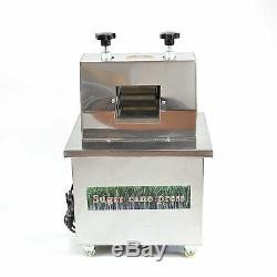 Electric Sugarcane Ginger Press Machine Commercial Juicer Stainless Steel