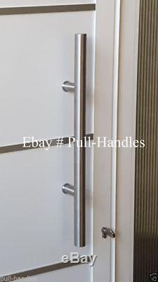Entry Front Door Long Commercial Door Pull Handle Stainless Steel Entry Modern