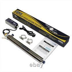 FilterLogic UV-254 Ultra-violet Water Steriliser system + alarm 22 litres/min