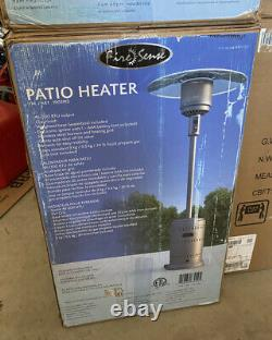 Fire Sense Commercial 46000 BTU Propane Patio Heater Brand NewNY / NJ LOCAL