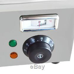Food Warmer 8-Pan Buffet Steam Table Bain Marie Restaurant Commercial 110V New