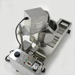 GOOD Commercial Automatic Donut Making Machine, Wide Oil Tank, 3Sets Free Mold