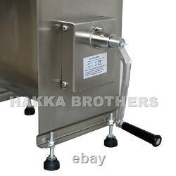 Hakka 60lb/30L Capacity Tank Commercial Manual Meat Mixer Stainless Steel Mixer