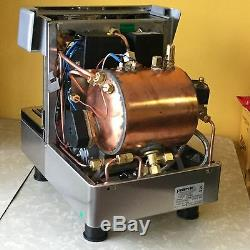 Handmade Compact 1 Group Espresso Machine Stainless Steel Commercial Grade