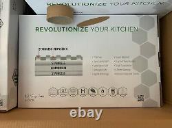 HexClad HC7 Hybrid Commercial Cookware 7 Pieces