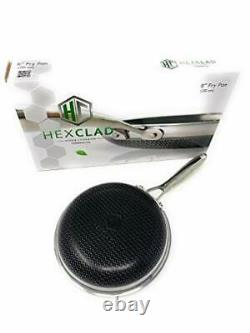 HexClad Hybrid Stainless/Nonstick inside and out Commercial Cookware Fry Pan