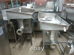 Hobart 4146 Commercial Stainless Steel 5HP Meat Grinder 3 Phase, 200V