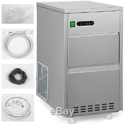 Ice Maker Commercial Electric Automatic Countertop 60LBS/day Bullet Ice Machine