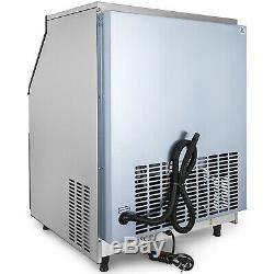Ice Maker Ice Cube Machine 120Kg/265Lb 24H Commercial Auto-control Microcomputer
