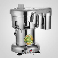 Juice Extractor 370W 176lbs/hr Juicer Extractor Machine Commercial