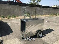Kiosk Vending Vendor Food Cart Fruit Street Carrito Frutas Portable Commercial