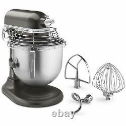 KitchenAid KSMC895DP Commercial 8 Qt. Stand Mixer With Bowl Guard, Dark