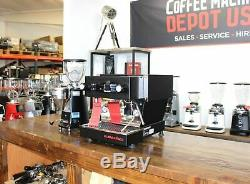 La Marzocco Linea Mini Commercial Espresso Machine & Mazzer Mini Grinder Combo