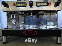 La Vittoria Commercial Coffee/Espresso 2 Group Machine