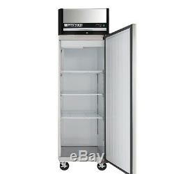 Maxx Cold Single 1 Door Stainless Steel Commercial NSF Refrigerator Cooler 23cf