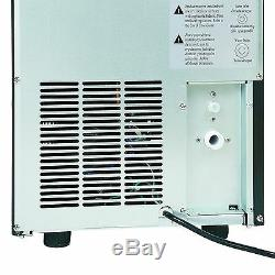 Maxx Ice MIM50 14.6in Commercial Built In Undercounter Clear Ice Maker Machine