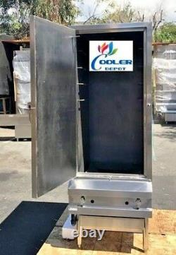 NEW 24 Commercial Barbecue Smoker Gas Oven BBQ Stainless Steel NSF Certified