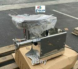 NEW Commercial Electric Meat Grinder 550W Stainless Steel Beef Mincer HFM-12