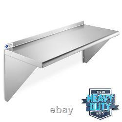NSF Stainless Steel 18 x 36 Wall Shelf Commercial Kitchen Restaurant Shelving