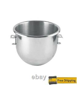 New 20 QT Stainless Steel Mixing Bowl For Hobart A200 Classic Mixer Commercial