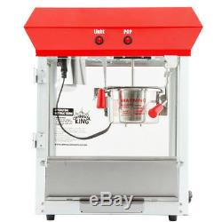 New Avantco Popcorn Commercial Machine Popper Maker 4Oz Paragon Kettle Movie Pop