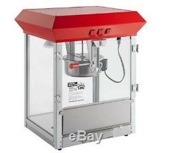 New Carnival King Commercial Popcorn Maker Machine 8 oz Popper Concession Kettle