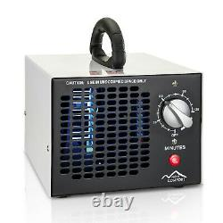 New Comfort White Commercial 8,500mg/hr O3 Ozone Generator Air Purifier