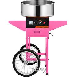 New Electric Cotton Candy Machine Pink Floss Carnival Commercial Maker Party